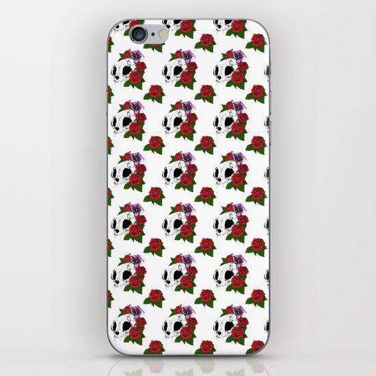 Kitty Skull iPhone & iPod Skin
