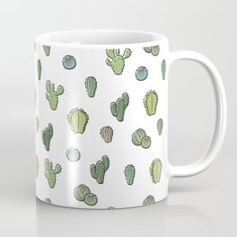 Cartoony Cacti pattern Coffee Mug