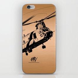 Copper Chinook iPhone Skin