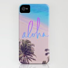Aloha Hawaii Slim Case iPhone (4, 4s)