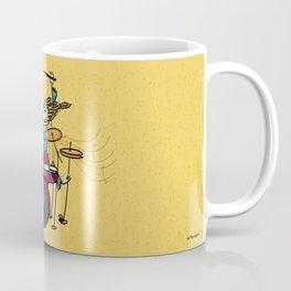 Crazy drummer Coffee Mug