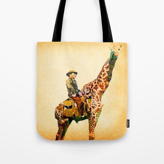Cowboy in Africa  Tote Bag