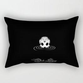 the DRIFTER skull Rectangular Pillow