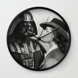 Darth Vader in Casablanca Wall Clock