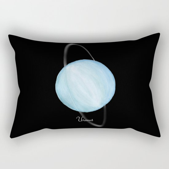 Uranus #2 Rectangular Pillow