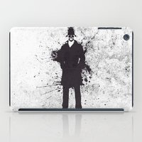 watchmen iPad Cases featuring WATCHMEN - RORSCHACH by Zorio
