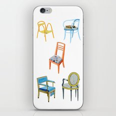 Chairs number 3 iPhone & iPod Skin