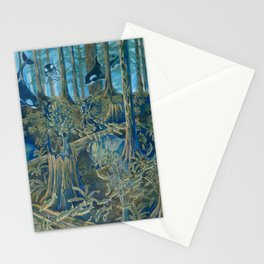 Forest Salmon Run  Stationery Cards