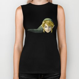 Triangles Video Games Heroes - Link Biker Tank