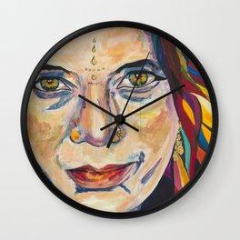 Fille Du Feu Wall Clock