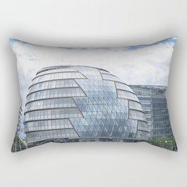 London City Hall Rectangular Pillow