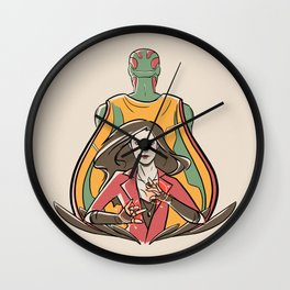 Chaos and Order Wall Clock