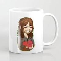 kili Mugs featuring Kili by angryorangecat