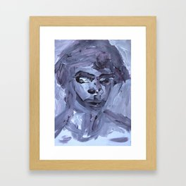 She's There  Framed Art Print