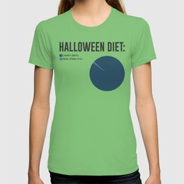 Halloween Diet Sweets Treats and Candy Design T-shirt