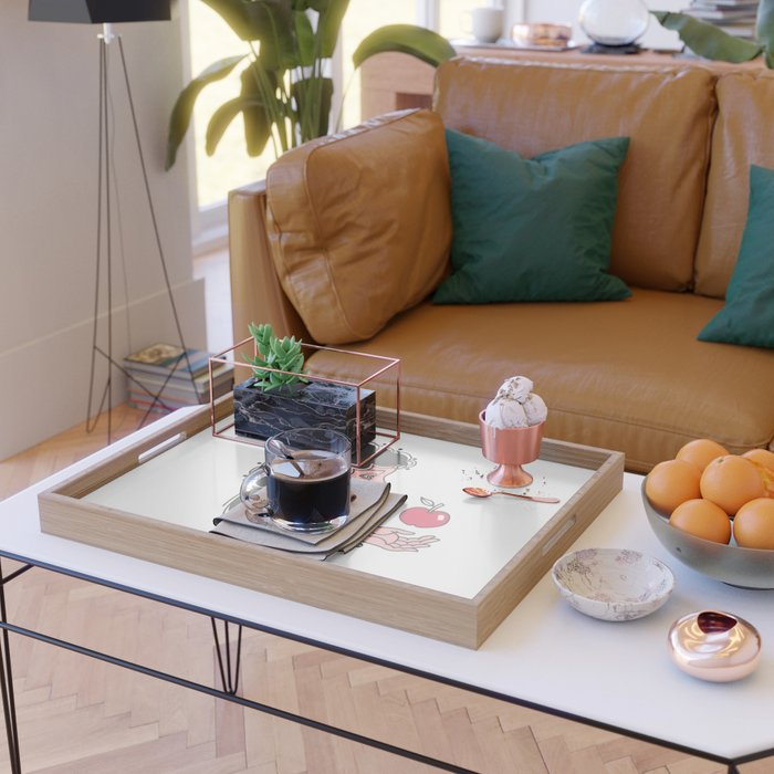Modern Eve Serving Tray