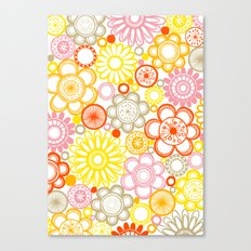 BOLD & BEAUTIFUL sunshine Canvas Print