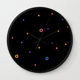 Multicolor dot Wall Clock