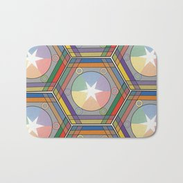 Babbitt's Chromatic Harmony of Gradation and Contrast, 1878, Remake, Interpretation Bath Mat