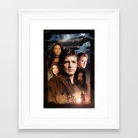 firefly Framed Art Prints featuring Firefly by SB Art Productions