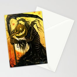 Autumn Harvester Stationery Cards
