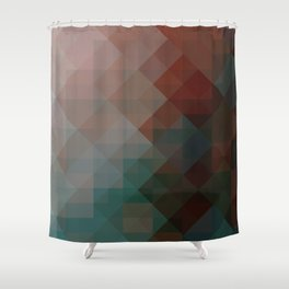 vier Fier | playing with pixels Shower Curtain