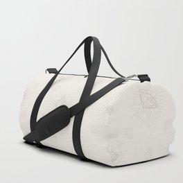Shiny Diamonds neutral pattern Duffle Bag
