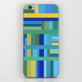 Cool Color Composition iPhone Skin