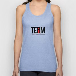 The I in Team Unisex Tank Top