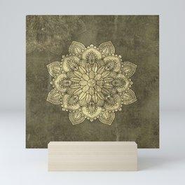 Wonderful mandala Mini Art Print
