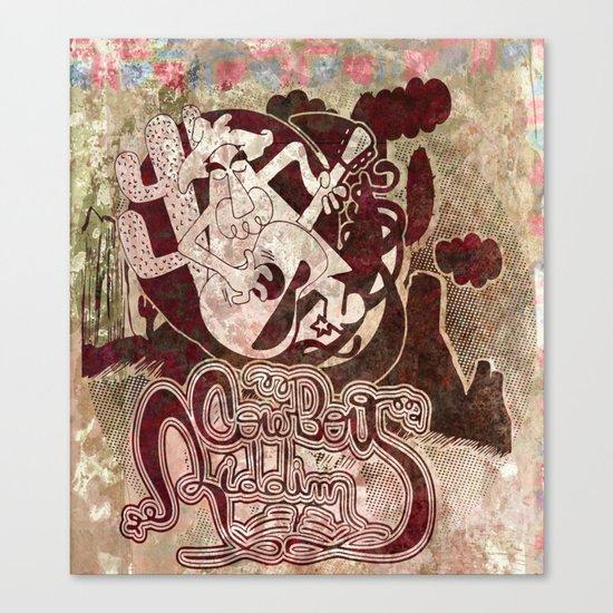 cowboy riddim Canvas Print