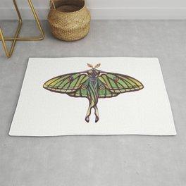 Spanish Moon Moth (Graellsia isabellae) Rug