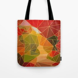 Autumn abstract landscape 6 Tote Bag