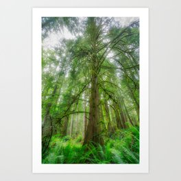 Ethereal Tree Art Print