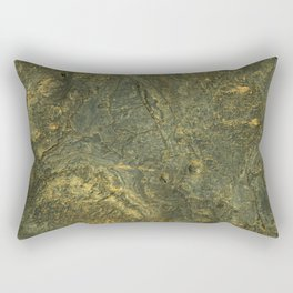 golden scales of the dragon ares | space #14 Rectangular Pillow