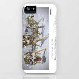 """Ammarnäs"" in words & image (M.Konecka) iPhone Case"