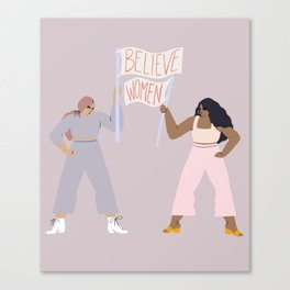 the gentle reminder Canvas Print