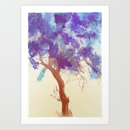 Water Your Tree of Life. Art Print