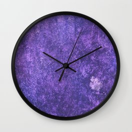 Hidden in a Forest of Purple Wall Clock