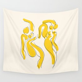 Exhibition poster Henri Matisse-Nu-1949. Wall Tapestry