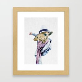 JAFFAR HIPSTAR Framed Art Print