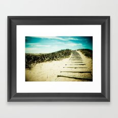 Steps to Your Dreams Framed Art Print