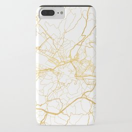 FLORENCE ITALY CITY STREET MAP ART iPhone Case