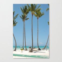 Palmies Canvas Print