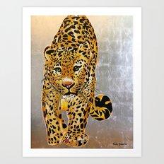 Jaguar Pachamama Art Print