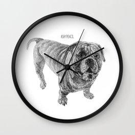 Bully_Iron Wall Clock