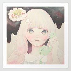 「Soy sauce Uchuuw」 Art Print