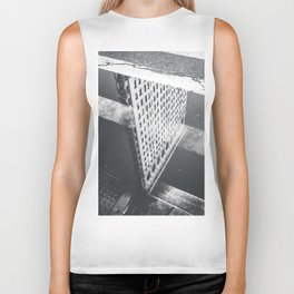 Flat Iron Building - NYC Reflection Biker Tank