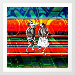 PastPresent Calaveras Art Print
