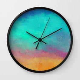 Nightfall Wall Clock